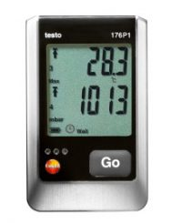 testo 176 P1 - Логгер данных давления, температуры и влажности
