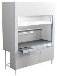 Шкаф вытяжной без сантехники ШВ НВК 1800 ЭПОК (1800x716x2200)
