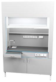 Шкаф вытяжной с сантехникой ШВ НВК 1500 МОН+ (1500x716x2200)