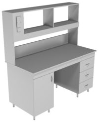 Стол пристенный физический НВ-1500 ПЛ (1520*700*1650)